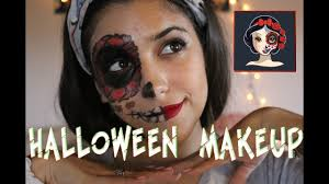 halloween makeup snow white catrina blancanieves catrina