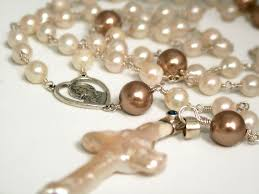 pearl rosary pearl rosary pearls of wisdom clearlyhelena