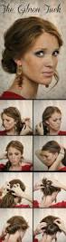 Easy Hairstyles For Medium Hair At Home by Best 25 Easy Updo Ideas On Pinterest Easy Chignon Simple Updo