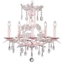 Chandelier Pink Cinderellapinkchandelier Jpg