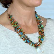 indian beaded necklace images Native american indian treasure necklace jpg