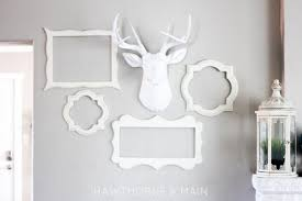diy white deer for woodland inspired decor shelterness