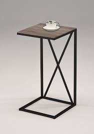grey metal bedside table furniture metal table ends glass coffee table with metal legs