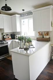 kitchen decorating ideas for countertops early summer home tour kitchen white kitchens and summer