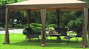 Patio Gazebo Replacement Covers by Big Lots 10x13 Gazebo Replacement Canopy Youtube