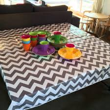 Coffee Table Cloth by How To Choose A Round Chevron Tablecloth U2014 Home Design Stylinghome