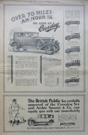crossley motors automobiles manchester england uk 1906 1958