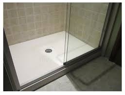 Bathroom Shower Pans Awesome Custom Shower Pan With Regard To Concrete Bathroom