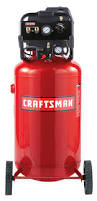 craftsman wlb1683321 33 gallon vertical portable air