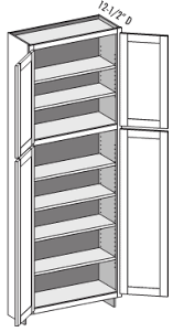 what is the depth of wall cabinets utility cabinet w wall height top section shallow door ucw csucw