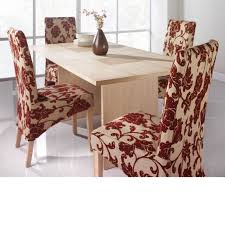 awesome white red colors floral pattern slipcovers rectangle shape