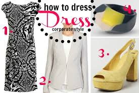 how to dress corporate style