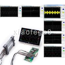 hantek 6074be automotive digital diagnostic oscilloscope 70mhz