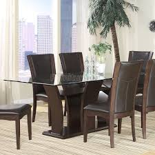 glass dining room table set 81 best glass top dining room tables images on glass