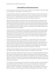 Example Of A Personal Essay For College Best Ideas Of Writing Reflective Essay Examples For Download