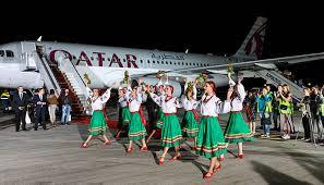 Qatar Airways Ukraine Welcomes Inaugural Qatar Airways Flight To Kyiv Ttg Mena