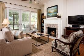 Charleston Rugs Charleston Brick Fireplace Remodel Living Room Transitional With