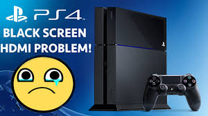 ps4 won t turn on white light black screen restart problem with hdmi on ps4 turn on captions