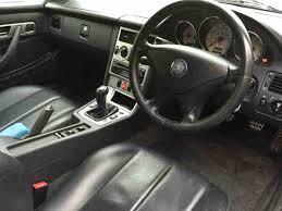 Slk230 Interior 2001 Mercedes Slk 230 Kompressor Silver Fsh Car For Sale