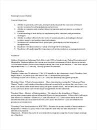 how to write a college paper outline 34 outline examples in word training course sample outline