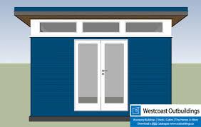 8x13 surrey bc backyard office westcoast outbuildings