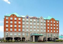 Comfort Inn Kentucky Inn Suites Business Card Template