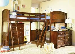 childrens bunk beds with desk and children bed slide image on