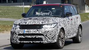 range rover land rover 2017 2017 land rover range rover sport svr review top speed