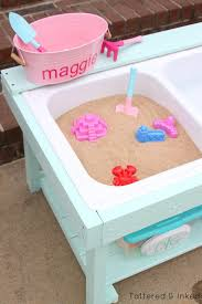 Sand Table Ideas Remodelaholic Build A Sand And Water Table From An Sink