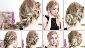 step by step hairstyles for long hair with bangs and curls party hairstyles for long hair step by step 2017 2018 for girls