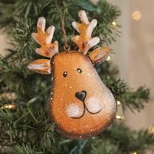 reindeer ornaments metal reindeer ornament christmas ornaments christmas and