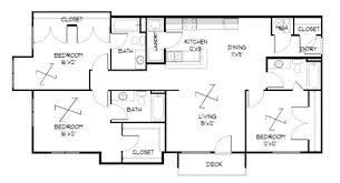 3 Bedroom Apartments Floor Plans Meadowbrook In Lawrence Kansas 3 Bedrooms