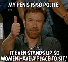 Funny Penis Meme - my penis is so polite meme