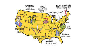 map of american infested den and true american patriots donald s