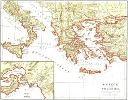 Ancient Greece On A World Map by Index Of Gary Zabel Courses Phil 281b Maps