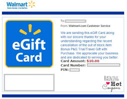 free e gift cards did you get a free 10 walmart gift card check your emails