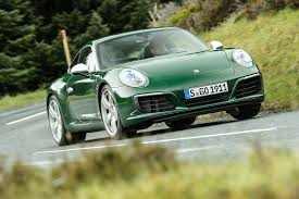 green porsche 911 porsche 911 special driving the one millionth model autocar