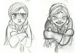 image gallery frozen sketches
