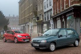 renault car 1990 25 years of the renault clio picture special autocar