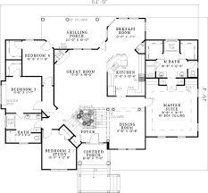 split level floor plan baskin farm split level home plan 055d 0450 house plans and more