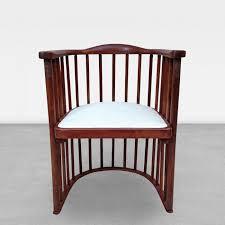 Joe Boxer Chair Josef Hoffmann Joseph Hoffman For Khon Signed Barrel Chair