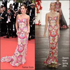 Fashion Sizzlers Archives Fashionsizzle by Cheryl Cole In Naeem Khan At Ma Loute Slack Bay 69th Cannes Film