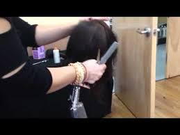 rusk ponytail method pictures rusk hair cutting demo youtube