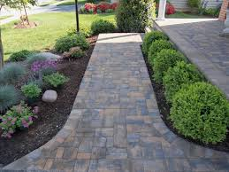 paver sidewalk pictures pathway design ideas to increase the