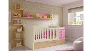 chambres bébé fille lit bébé fille 2 évolutif bc30 avec étagère déco glicerio so nuit