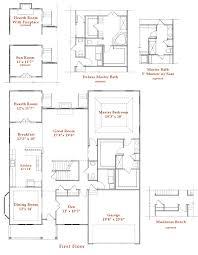ellington floor plan waterford ii at ellington village westport homes