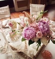 vintage pink wedding flower centerpieces chicago the wedding