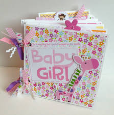baby girl scrapbook album scrapbook mini album baby girl premade scrapbook minis and album