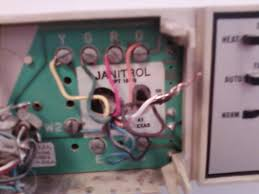 janitrol furnace thermostat wiring diagram wiring diagram and