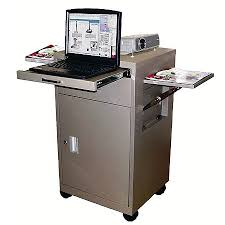 multimedia cart with locking cabinet lmc2 multimedia cart w locking cabinet and drawer